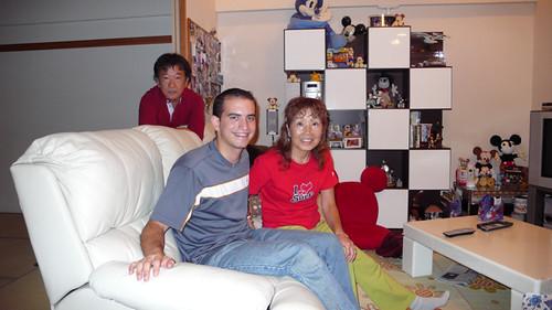 Con mi Host Family en Nara