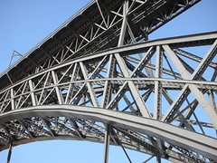 landmark, architecture, truss bridge, cantilever bridge, arch bridge, bridge,