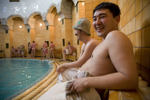 The banya steams and gives health: Russian bathhouses in Kazakhstan