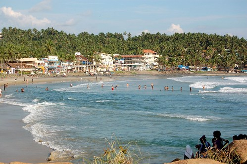 Kovalam - lighthouse beach