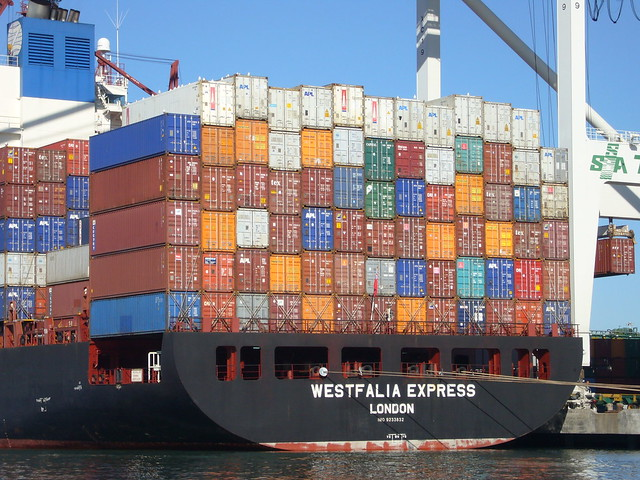 Containers by Jim Bahn on flickr