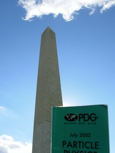 PDG at the Washington Monument