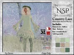 NSP Country Lace Dress - V3