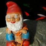 Nail-Riding Gnome - Prague, Czech Republic