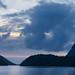 Blue hour Doubtful Sound