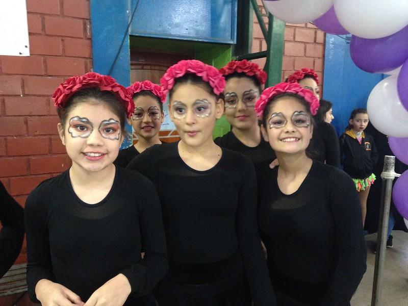 Colegio Santa Catalina Labouré - Presentación Patinaje Artístico 2018 - La Reina