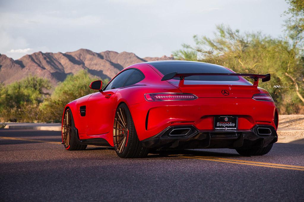 מדהים Red Darwin Pro Mercedes AMG GTS - Bronze ADV.1 ADV15R M.V2…   Flickr WX-16