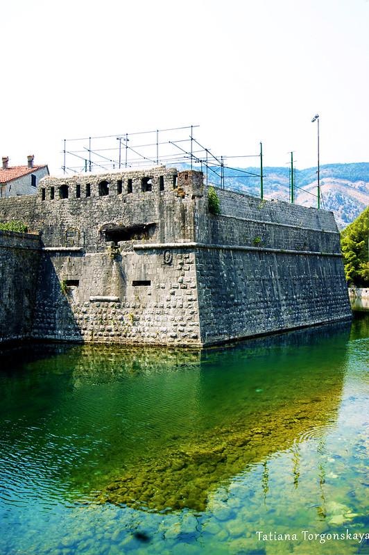 Бастион Бембо на реке Шкудра