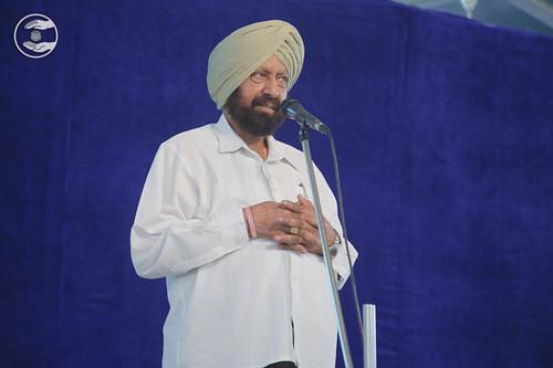 Dalbir Singh Uppal from Sant Nirankari Colony, Delhi, expresses his vies