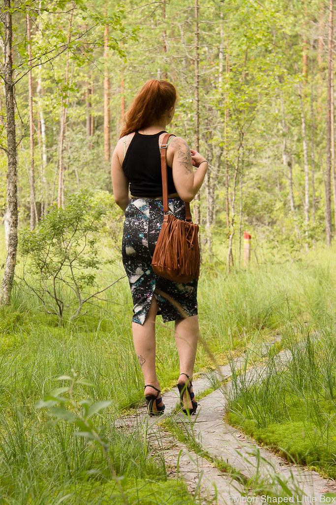 päivän asu, tyylibloggaaja, suomalainen, hapsulaukku, konjakinvärinen laukku