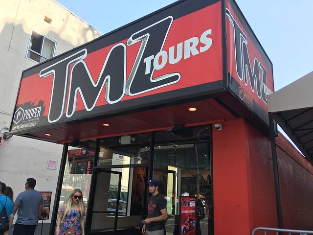 TMZ on Hollywood Blvd