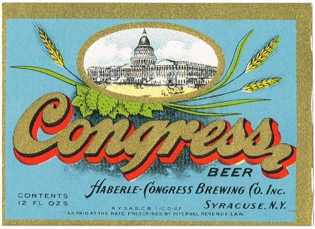 Congress-Beer-Labels-Haberle-Congress-Brewing-Co