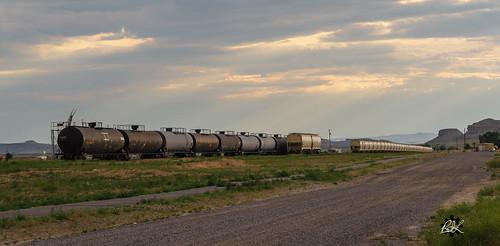 High plains railyard