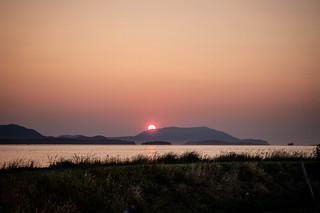Skagit Sunset over Orcas Island-014