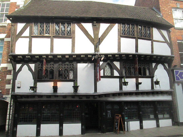 Shrewsbury Tudor building