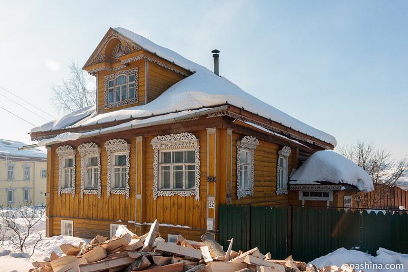 Деревянный дом на Коммунистической улице, Солигалич