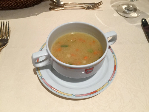Noodle soup / Nudelsuppe - Hotel Lamm - Heimbuchenthal
