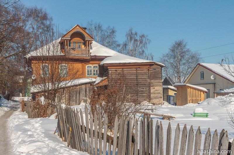 Старинный деревянный дом, Солигалич