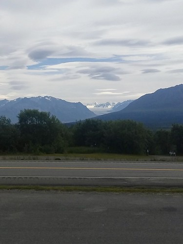 Chugach Mountains Glacier