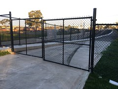 IMG_7467 Camp Road bridge fence denies access that was previously used by the public - #UpfieldBikePath