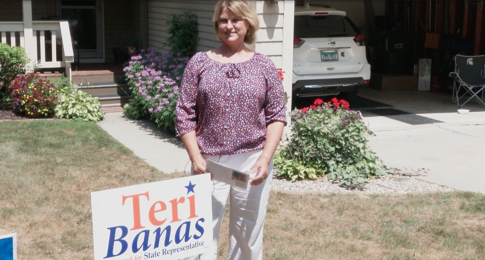 On the Campaign Trail: Teri Banas 69th State Rep. Candidate (D)