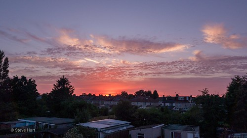 Wyken Weather sunset #sunset #wykenweather #weather