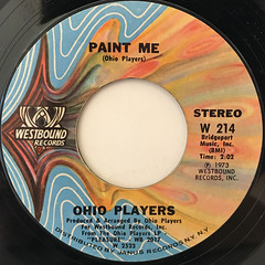 OHIO PLAYERS:FUNKY WORM(LABEL SIDE-B)