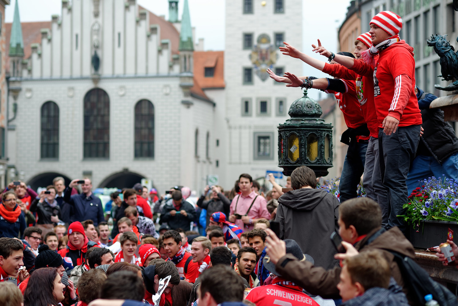 Fans des FC Bayern ...