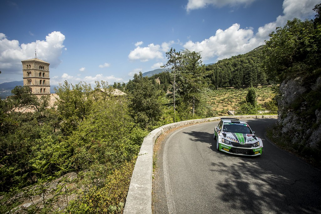 during the 2018 European Rally Championship ERC Rally di Roma Capitale,  from july 20 to 22 , at Fiuggi, Italia - Photo Gregory Lenormand / DPPI