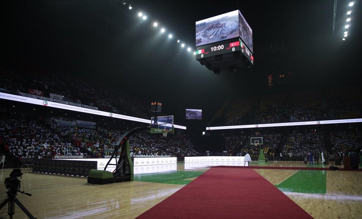 Dakar Arena interieur