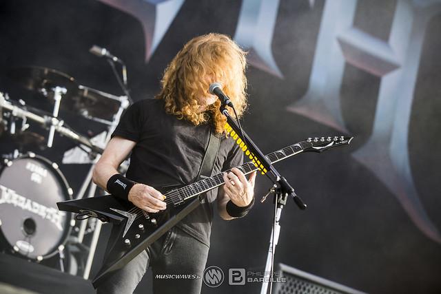 Megadeth @ Hellfest 2018, Clisson | 24/06/2018