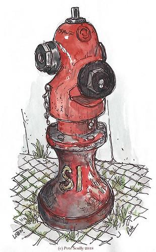 Lisbon Hydrant 5 sm