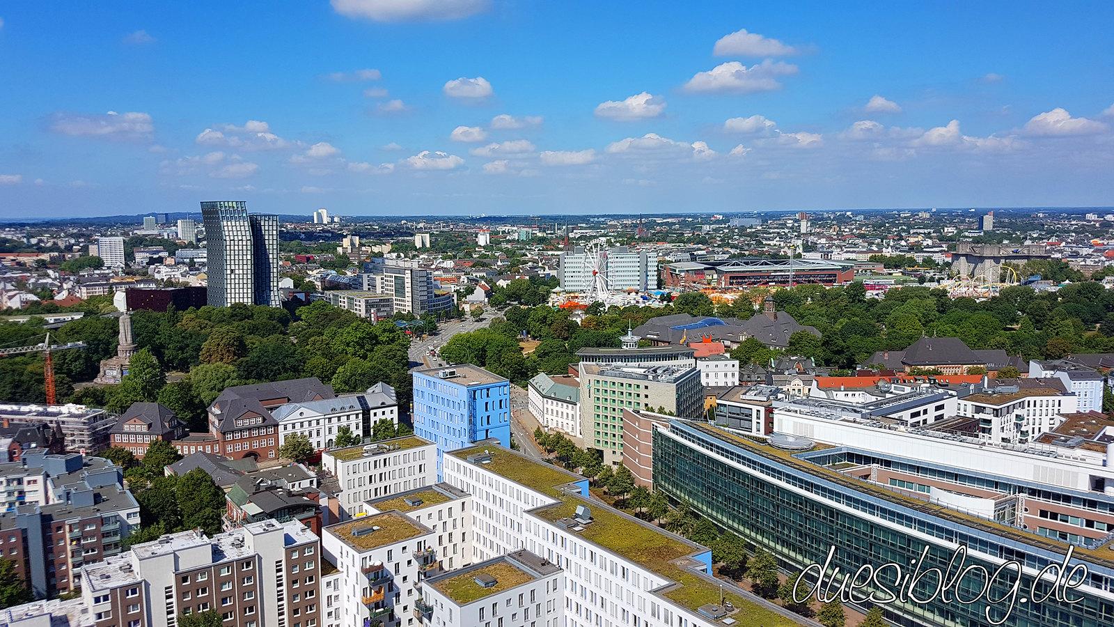 Hamburg - von oben
