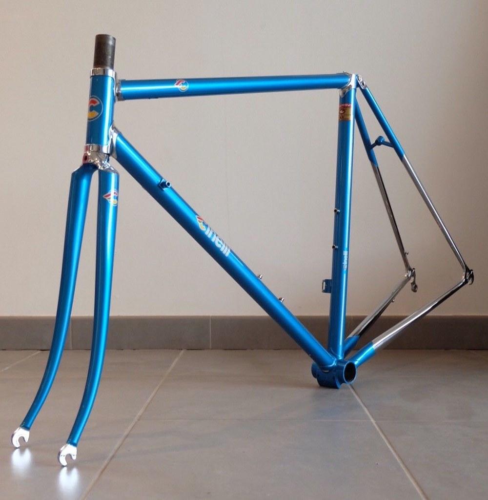 Cinelli Super Corsa. Une semaine un vélo. 43563807531_83ea5df586_b