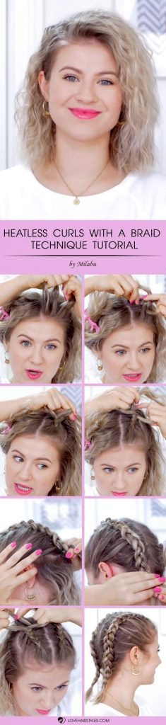 How To Curl Short Hair? -Creative And Easy Ways For Latest Styles! 3
