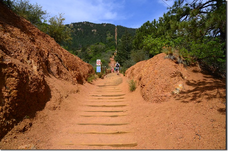 The easy part of the incline