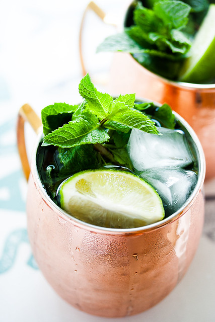 London Mule mit Ginger Beer