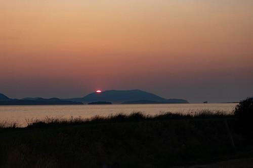 Skagit Sunset over Orcas Island-018