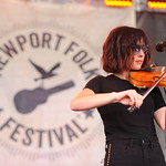 Fri, 27/07/2018 - 11:17am - Amanda Shires and her band, Newport Folk Festival 2018. Photo by Neil Swanson/WFUV
