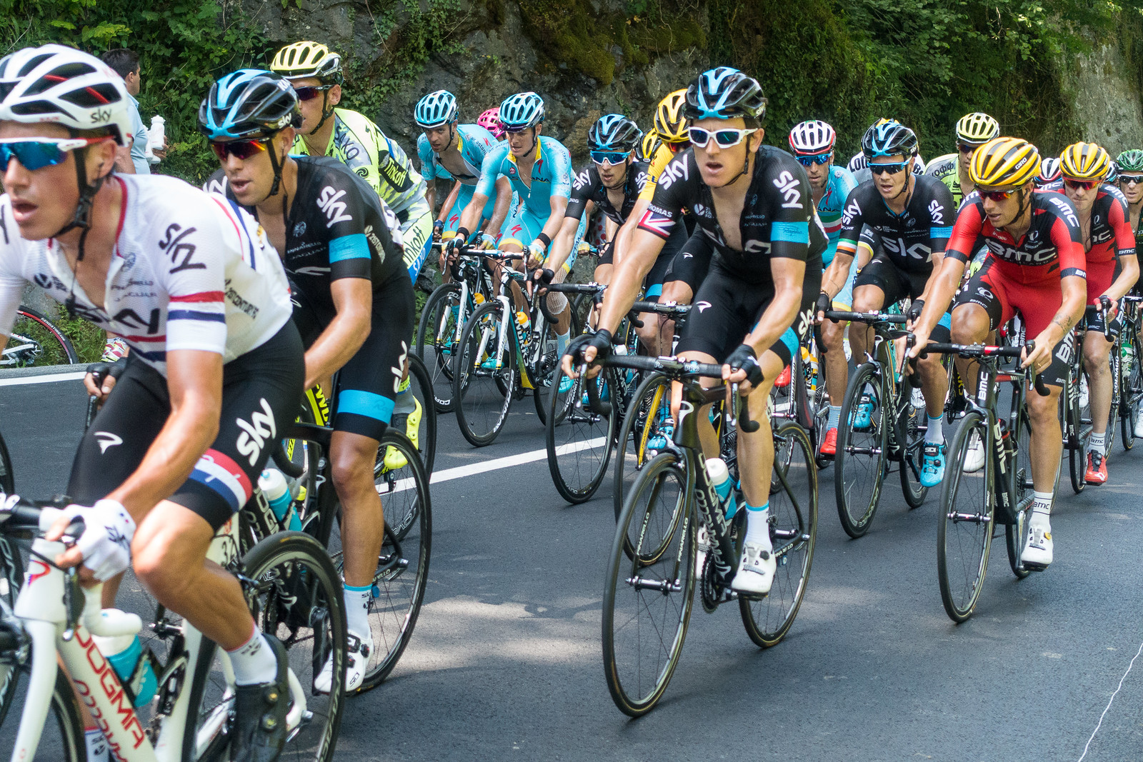 Geraint Thomas - 2015 Tour de France - Stage 10