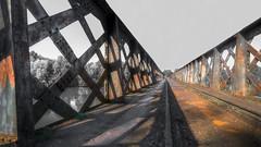 A Dole, un pont sur le Doubs...