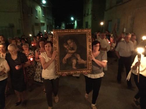 Virgen salud Celadas 60 - Procesión de Antorchas