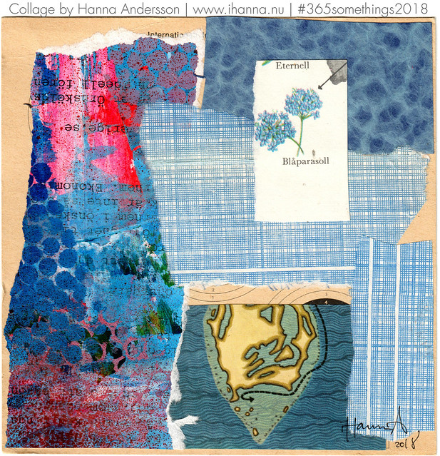 In the Shade of a Parasol - Collage no 206 by iHanna