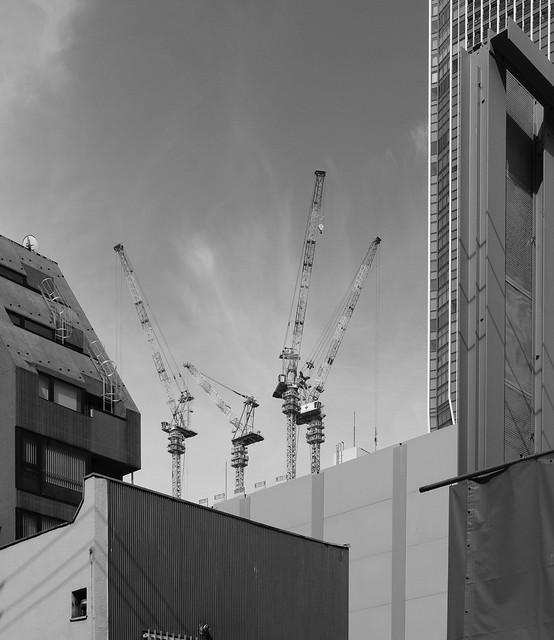 Tokyo skyline, Fujifilm X-E3, XF27mmF2.8