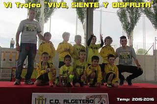 VI Trofeo VIVE, SIENTE Y DISFRUTA 2016