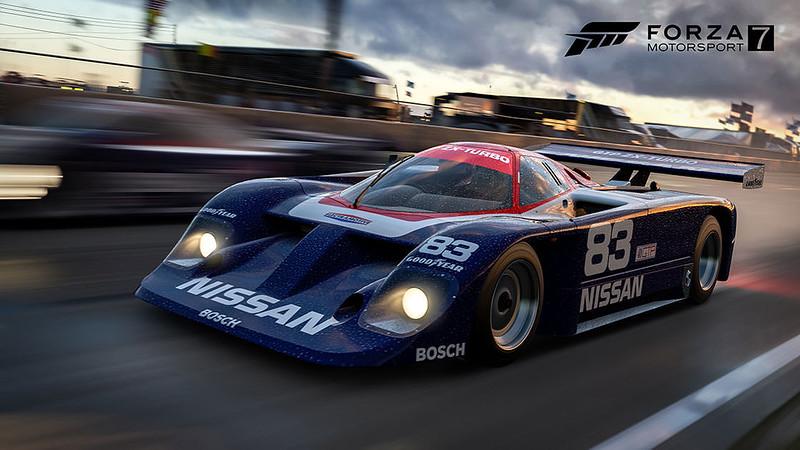 1985 Nissan #83 Electramotive Engineering GTP ZX-Turbo