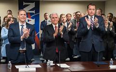 Vice President Meets with NASA Leadership (NHQ201804230036)