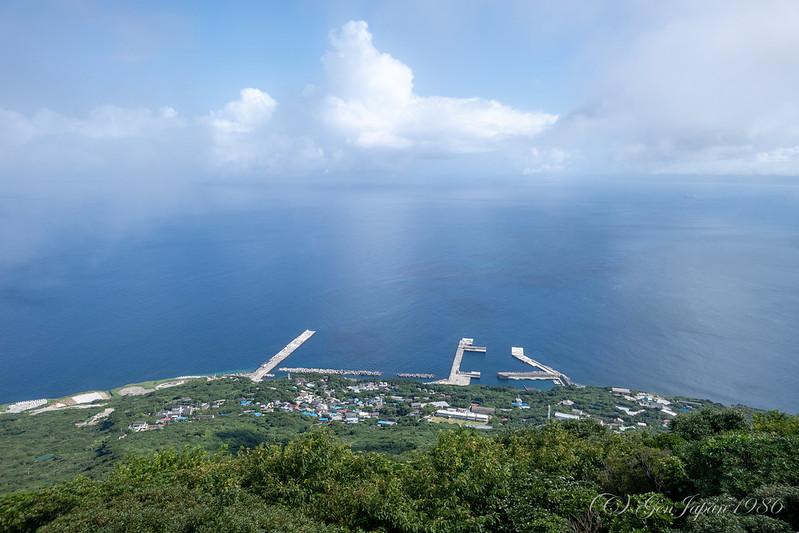 利島 宮塚山からの景色