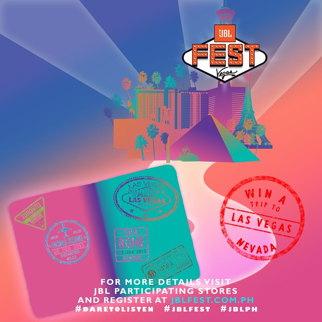 Bring Your Music Anywhere + Get Invites to JBL Fest 2018