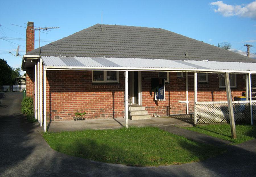 Unser erstes Mietshaus in Te Atatu Peninsula - Nie wieder ein Steinhaus! Das war sooo kalt!